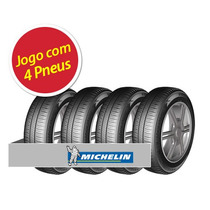 Kit Pneu Aro 14 Michelin 185/70r14 Energy Xm2 88t 4 Unidades