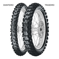 Pneu Dianteiro Pirelli 60/100 - 14 29m Scorpion Mx Extra J