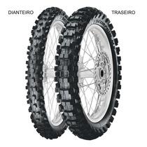 Pneu Traseiro Pirelli 80/100 - 12 50m Tt Scorpion Mx Extra J