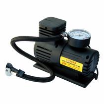 Mini Compressor De Ar Com Manômetro Luxcar 8525 - 12v, 250