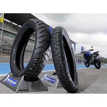 Par Pneu Bmw Gs 1200 V Strom Michelin Anakee 3 + Brinde