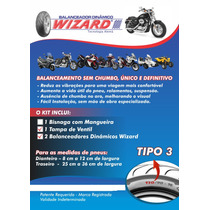 Balanceamento Para Moto Kit 3 Suzuki Yamaha Ktm 15 Unidades