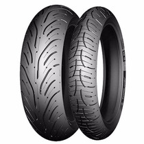 Par De Pneu 120/70-17 + 190/50-17 Michelin Pilot Road 4 Top