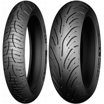 Combo Pneu Michelin Pilot Road 4 120/70-17 + 180/55-17