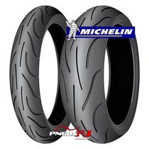 Jogo De Pneu Moto Michelin Pilot Power 190/50r17 + 120/70r17