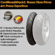 Pneu Continental 110-80-19 Contiroadattack 2 (d)