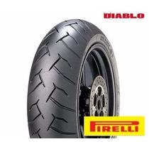 Pneu Traseiro Pirelli Diablo 180/55/17 Z750 Hornet Xj6 Srad