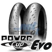 Pneu 17 200-55-17 E 120-70-17 Michelin Power Cup Evo