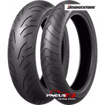 Pneu Moto 120/70/17+190/50/17 Bridgestone Bt023 Cbr/hornet