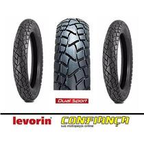 Pneu Moto Dianteiro Levorin 90/90-21 Dual Sport Xre300