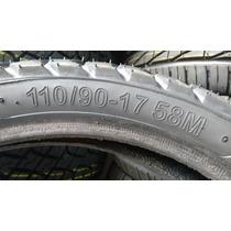 Pneu 110/90/17moto Novo Remold Despachamos Jsc Pneus