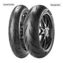 Pneu Dianteiro Pirelli 120/70 Zr 17 58w Diablo Rosso Corsa