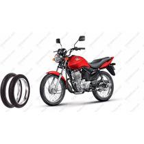 Pneu Moto Traseiro 90/90 18 57p Rinaldi Bs 32 Honda Ybr Yes