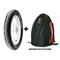 Pneu Traseiro Pirelli Mt65 100 90 18 + Mochila Max Racing