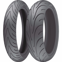 Par De Pneu 120/70-17 + 180/55-17 Michelin Pilot Road 2
