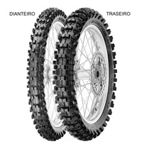 Pneu Traseiro Pirelli 100/90 - 19 57m Tt Scorpion Mx Midsoft