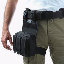 Bornal Tatico Policia Força Nacional Com Porta Carregador