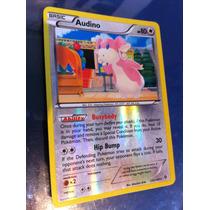 Pokemon Audino Revholo Fronteiras Cruzadas 126/149 Inglês