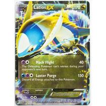 Carta Pokemon Latios Ex Congelamento De Plasma Frete Grátis