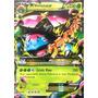 Carta Pokemon Mega Venosaur Ex X Y Inglês