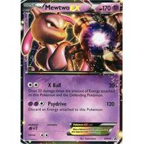 Carta Pokemon Mewtwo Ex Bw45 Em Inglês