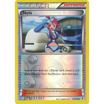 Carta Pokemon Skyla Reverse Boundaries Crossed Em Inglês