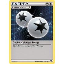Carta Pokemon - Energia Incolor Dupla