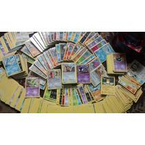 Mega Lote Pokemon - 50 Cartas Com 3 Raras E 1 Foil + Trainer