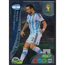 Cards Adrenalyn 2014- Fans Favourite Ezequiel Lavezzi