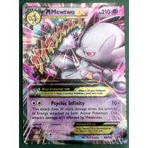 Carta Pokémon Mega Mewtwo Y Ex 64/162 Break Through (inglês)