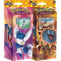 2 Deck Pokémon Xy Black & Whit Portugês