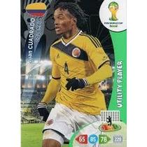 Cards Adrenalyn 2014- Utility Player Juan Cuadrado