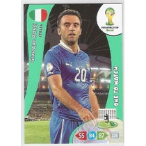 Cards Adrenalyn 2014- One To Match Giuseppe Rossi