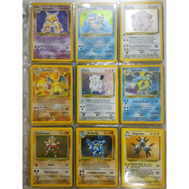° Pokemon Base Set Completo Tcg Raro Card Carta Exclusivo °