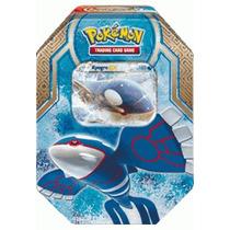Lata De Pokémon Xy 5 Kyogre Ex (em Português)