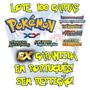 Lote 100 Cartas Pokémon X Y Em Português Ex Garantida!