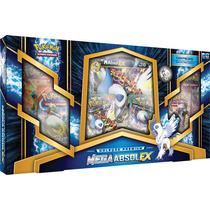 Box Pokémon Mega Absol-ex Carta Gigante Com Moeda