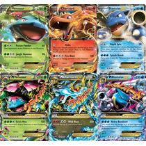 Pokémon Mega Venusaur, Mega Blastoise, Mega Charizard + 3 Ex