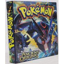 Pasta Pokémon Xy Origens Ancestrais 3 Aros Cards Deck Suika