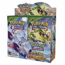 Booster Box- Pokémon Xy 6 - Céus Estrondosos - Lacrado