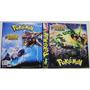 Pasta Pokémon Xy Céus Estrondosos 3 Aros + 30 Folhas Cards
