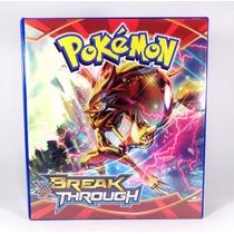 Pasta Fichário Pokémon C/30 Transparências *produto Oficial*