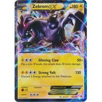 Carta Pokemon Zekrom Ex Legendary Treasures Inglês