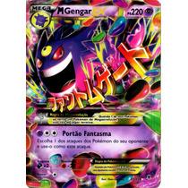 Carta Pokemon Mega Gengar Ex Xy - Força Fantasma - Português