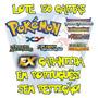 Lote 50 Cartas Pokémon X Y Em Português Ex Garantida!