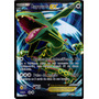 Carta Pokemon Rayquaza Ex Full Art 104/108 Céus Estrondosos