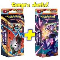 2 Decks Pokémon Bw Explosão De Plasma Volcarona Genesect