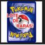Lote Pokemon De 15 Cartas Raras!