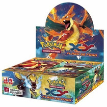 Pokémon Box Display Xy 2 Flash De Fogo 36x5