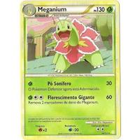 Card Pokémon Meganium - Heartgold Soulsilver Holofoil Pt